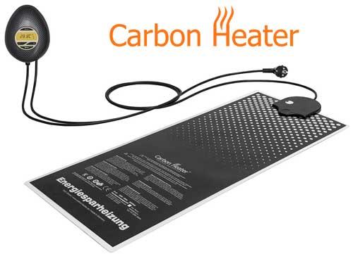 Carbon Heizung für Wasserbetten